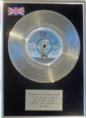 "MUD - 7"" Platinum Disc -  LONELY THIS CHRISTMAS"